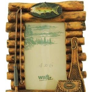 PICTURE FRAME LOG FISHING
